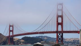 Golden Gate Bridge from Baker Beach in San Francisco Royalty Free Stock Photo