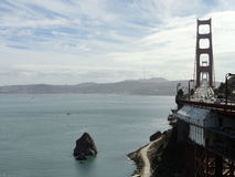 Golden Gate Bridge and Bay Royalty Free Stock Photo