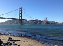 Golden gate bridge-Blick heraus Lizenzfreies Stockfoto