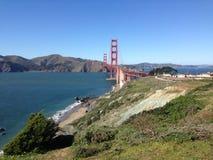 Golden gate bridge-Blick heraus Stockbilder