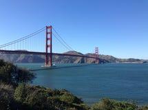 Golden gate bridge-Blick heraus Stockbild