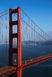 Golden Gate Bridge with Blue Sky, San Francisco Royalty Free Stock Image