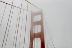 Golden gate bridge brumeux, San Francisco Photo stock