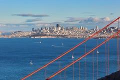 Golden gate bridge célèbre à San Francisco, Etats-Unis images libres de droits