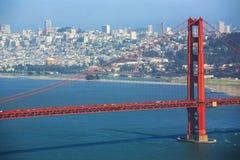 Golden gate bridge, Califórnia, EUA Foto de Stock Royalty Free