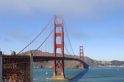 Golden gate bridge , California Royalty Free Stock Photography