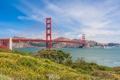 Golden Gate Bridge, California, USA. Stock Photo