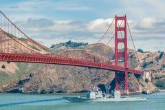 Golden Gate Bridge, California, USA. Stock Images