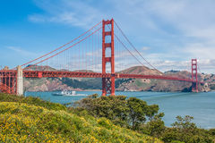 Golden Gate Bridge, California, USA. Royalty Free Stock Photos
