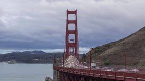 Golden Gate Bridge and Car Traffic. California, USA