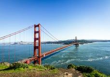 Golden Gate Bridge and city Skyline - San Francisco, California, USA Royalty Free Stock Photos