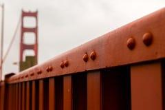 Golden Gate Bridge. Close-up  Golden Gate Bridge, San Francisco, California, USA Royalty Free Stock Photo