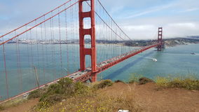 Golden Gate Bridge Close up Royalty Free Stock Photo