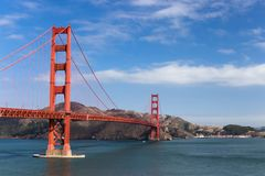 The Golden Gate Bridge. Royalty Free Stock Image