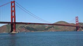 Golden Gate Bridge closer stock video