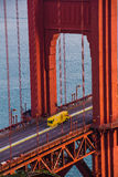 Golden Gate Bridge Closure January 2015 Royalty Free Stock Photo