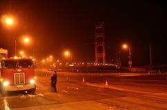 Golden Gate Bridge Closure Stock Photo