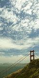 Golden Gate Bridge and Clouds Royalty Free Stock Image