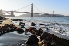 Golden gate bridge at Crissy field, San Francisco Stock Images