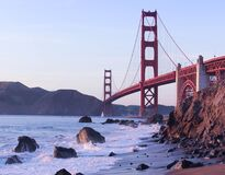 Golden Gate Bridge during Day Time Royalty Free Stock Photos
