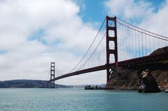 Golden Gate Bridge during Daytime Royalty Free Stock Photos