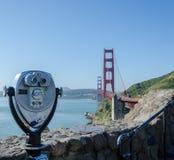 Golden gate bridge de point de vue Photographie stock libre de droits