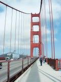 Golden gate bridge de San Francisco, EUA Imagem de Stock Royalty Free