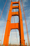 Golden Gate Bridge Detail Royalty Free Stock Photos
