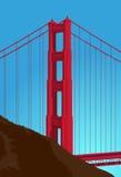 Golden Gate Bridge Detail Stock Photography