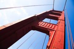 Golden Gate Bridge in Detail Stock Image