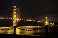 Golden gate bridge do ponto do forte imagem de stock royalty free