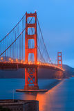 Golden Gate Bridge and downtown San Francisco Stock Images
