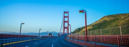Golden gate bridge early morning in san francisco california Stock Image