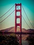 Golden gate bridge em San Francisco, CA Fotos de Stock