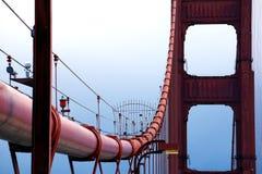 Golden gate bridge em San Fransisco Fotografia de Stock