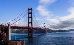 Golden Gate Bridge. The fabulous Golden Gate Bridge - San Francisco - California Royalty Free Stock Photo