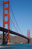 Golden Gate Bridge and Ferry Royalty Free Stock Images