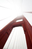 Golden Gate Bridge in the Fog Stock Photo