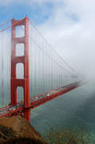 Golden Gate Bridge with Fog Royalty Free Stock Image
