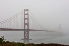 Golden Gate Bridge in Fog Stock Image