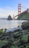 The Golden Gate Bridge from Fort Baker. Royalty Free Stock Photo