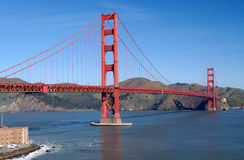 Golden Gate Bridge from Fort P Royalty Free Stock Photos