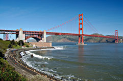 Golden Gate Bridge from Fort P Royalty Free Stock Photo