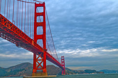 Golden Gate Bridge at Fort Point Stock Photo