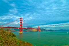 Golden Gate Bridge at Fort Point Royalty Free Stock Photography