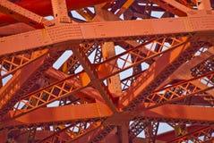 Golden Gate Bridge at Fort Point Stock Image