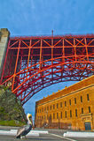Golden Gate Bridge at Fort Point Royalty Free Stock Photo