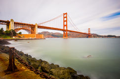 Golden Gate Bridge In Fort Point Stock Image