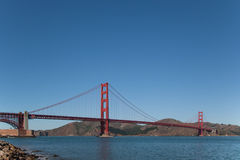 Golden Gate Bridge Fort Point Royalty Free Stock Photos