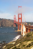 Golden Gate Bridge Fort Point San Francisco Bay California Stock Photo